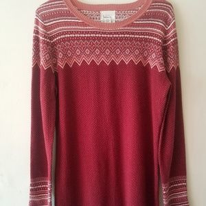 Between me and you Anthropologie sweater Dress sz